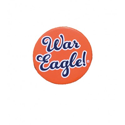 Orange War Eagle Button
