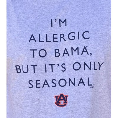 Allergic To Bama Shirt
