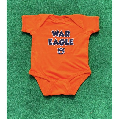War Eagle Orange Onesie