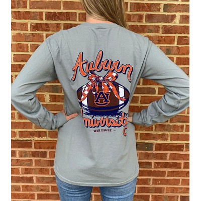 Auburn Bow Long Sleeve