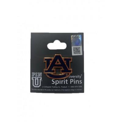 Navy AU Logo Pin