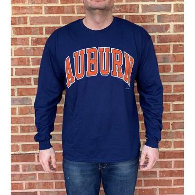 LS Auburn Navy Shirt