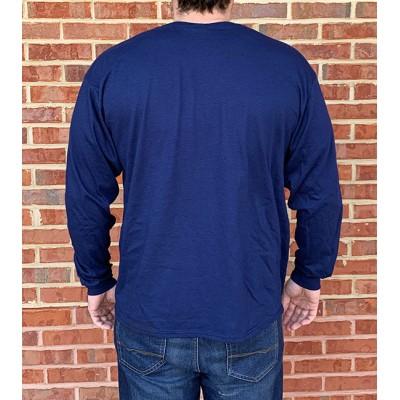 LS AU Glacier Navy Shirt