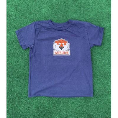Aubie Navy Toddler Shirt