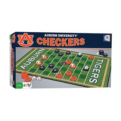 AU Checkers Board Game