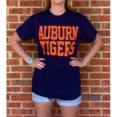 AU Tigers Navy Shirt