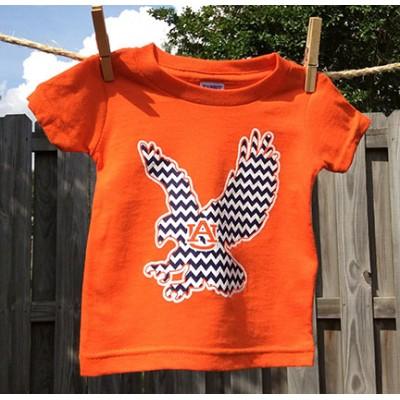 Eagle Chevron Toddler Shirt