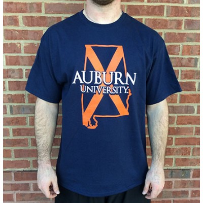 AU Tigers Outline Shirt