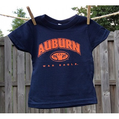Tiger Navy Toddler Shirt