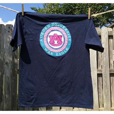 Navy Chevron Youth Shirt